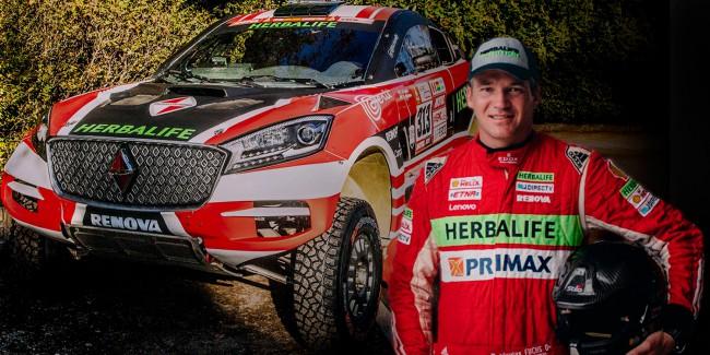 Nicolás Fuchs en el Rally Dakar 2018