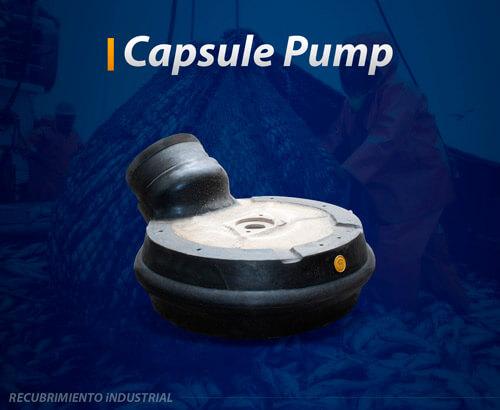 capsule pump recubrimiento industrial